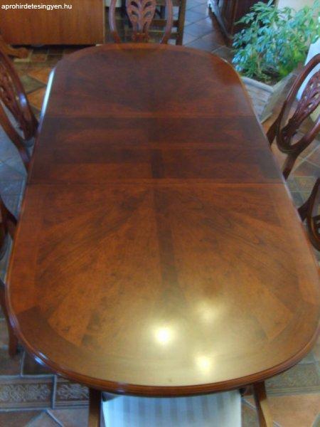 Étkező étkezőgarnitúra komód tálaló asztal 6 székkel - Eladó Használt - Écs - Apróhirdetés Ingyen