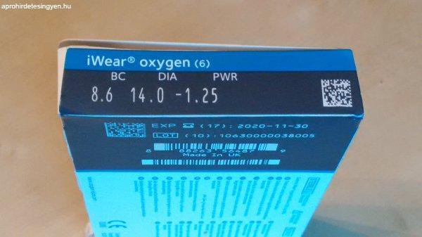 iWear Oxigen havi kontaktlencse -1.25 dioptria - Eladó - Budapest XI ... c1336afb6c