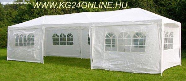 2c2807deabf4 Új 9x3 m XXL kerti party fesztivál sátor pavilon ponyva kemp - Eladó ...
