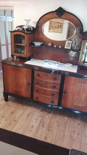 Antik bútorok (Komplett hálószoba és ebédlő) eladó! - Eladó ...