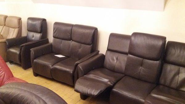 Relax valódi bőr kanapé ülőgarnitúra. Akciós ár! Ingyen szál ...