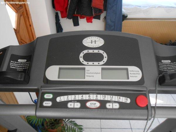 Horizon Fitness futópad féláron futógép futó pad futó gép - Eladó ... 9712b3e525