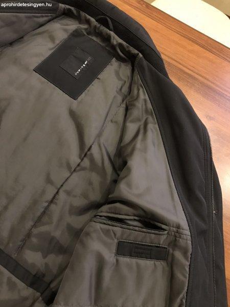 ... elegáns JUPITER téli kabát - fekete színben ... c5e9186b71