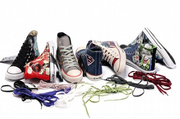Converse Chuck Taylor All Star Hi Top Dc Comics Batman Vs. Joker