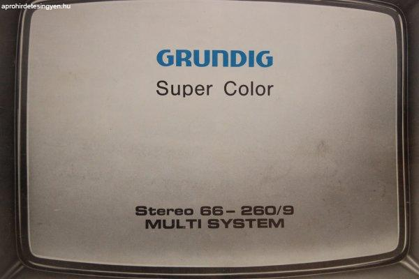 GRUNDIG+Super+Color+Stereo+TV+gy%FCjt%F5knek%28m%E1r+muze%E1lis+darab%29