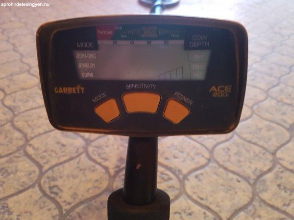 Garrett+ace+200i+F%E9mdetektor