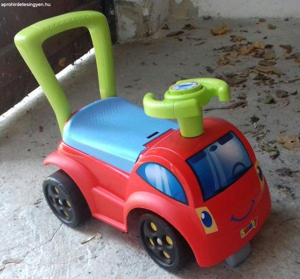 Babytaxi+Smoby+Initio+Piros+aut%F3