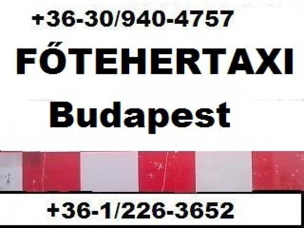FŐ-TEHERTAXI költöztető, bútorszállító, fuvarozó Budapest