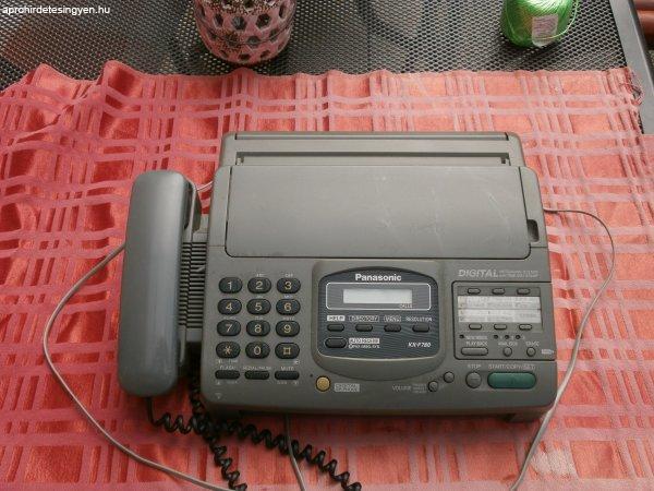 PANASONIC+vezet%E9kes+telefon+fax+j%F3+%E1llapotban+l%E9v%F5