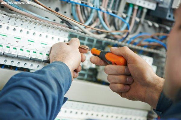 Németországi villanyszerelő munka 2019-ben