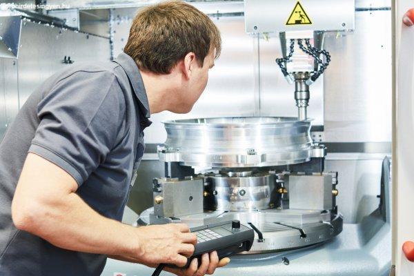 CNC munkák Németországban folyamatos kezdéssel
