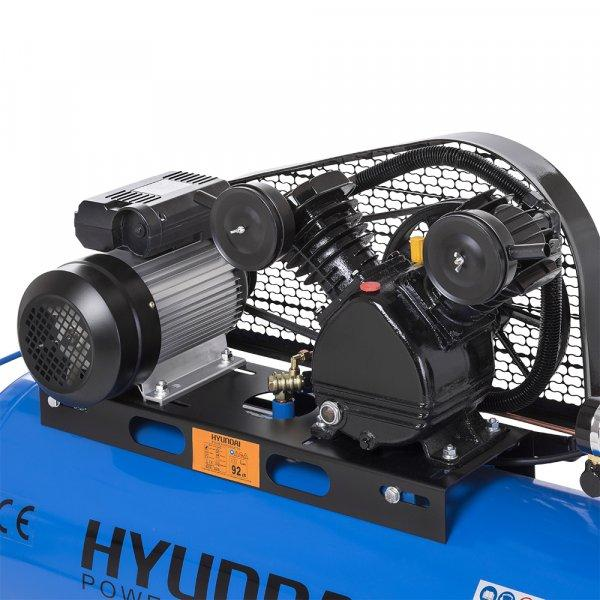 Hyundai+100+L-es+V+hengeres+olajos+kompresszor+8+Bar