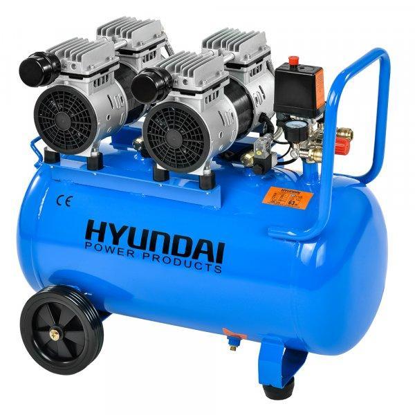 Hyundai Hyd-50F  Extra csendes olajmentes kompresszor, 8bar