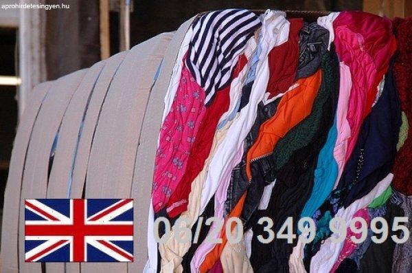 Angol Használt ruha Ingyenes Szállítással,  06/20 349 999