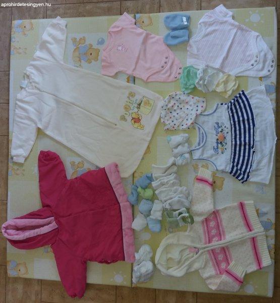 Hibátlan újszülött 56-62 méretű kislány ruhacsomag eladó - Eladó ... 7d42494973