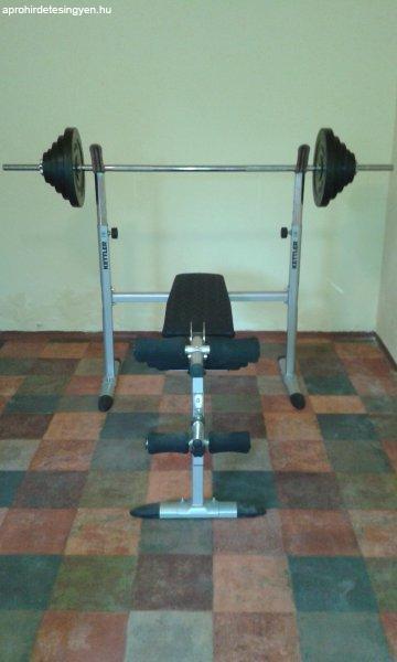 Kettler+%FAj+s%FAlyz%F3pad+90+kg-os+Fitness+s%FAlyz%F3k%E9szlettel+elad%F3