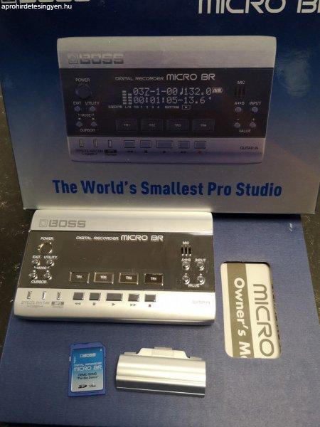 BOSS Micro BR házi stúdó recorder