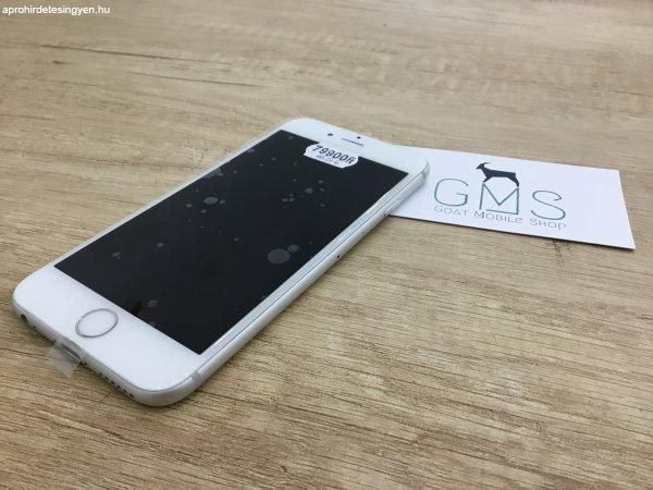 Apple+Iphone+6s+16GB+Silver+Haszn%E1lt%2C+F%FCggetlen