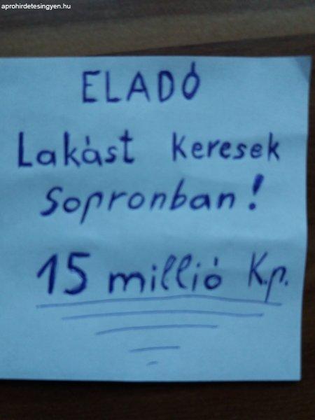 Elad%F3+lak%E1st+keresek+Sopronban%21+15+milli%F3ig%21+Kp%21