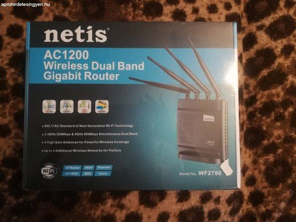 Netis+AC+1200+Wireless+Dual+Band+Gigabit+Router+elad%F3.