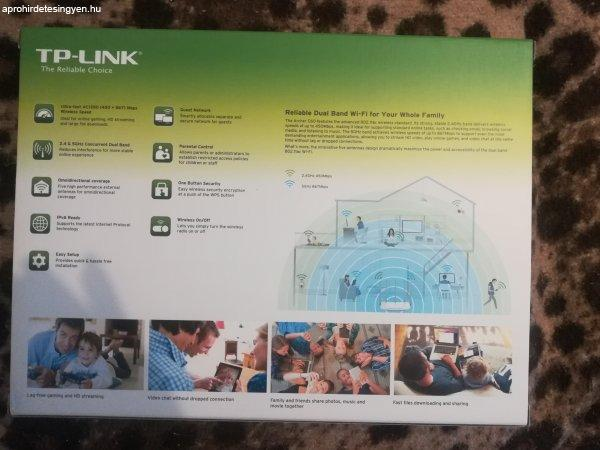 TP-Link+AC+1350+Wireless+Dual+Band+Router+elad%F3