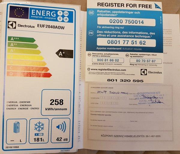 Electrolux+fagyaszt%F3szekr%E9ny%2C+%E1r+alatt