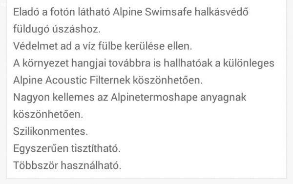 Swimsafe+f%FCldug%F3%2C+hall%E1sv%E9d%F5+%FAsz%E1shoz