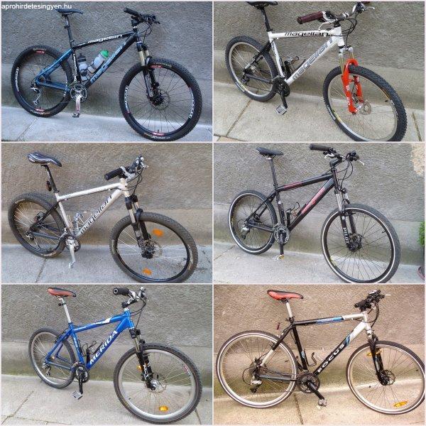 Kerékpárok és alkatrészek!