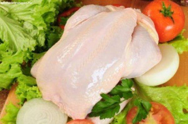 Friss egész csirke ár: 1kg 598 Ft - Friss Csirkemell ár...