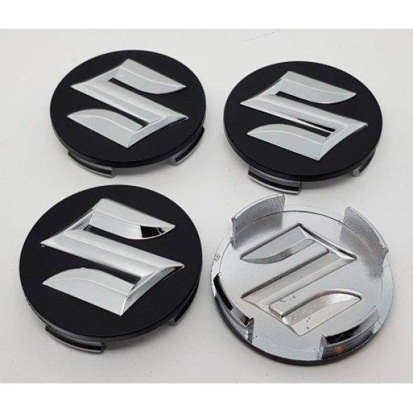Suzuki+fekete+54mm+felni+kupak+k%F6z%E9p+4db