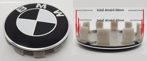 BMW+fekete+68mm+felni+k%F6z%E9p+kupak+4db