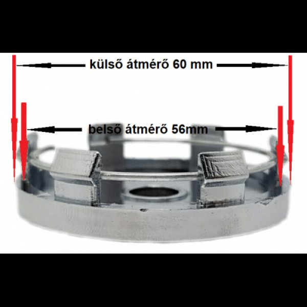 Citroen+Ds+60mm+felni+kupak+4db