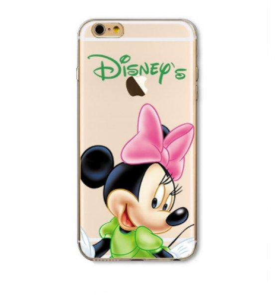 iPhone+Minnie+Mouse+mint%E1s+szilikon+tok