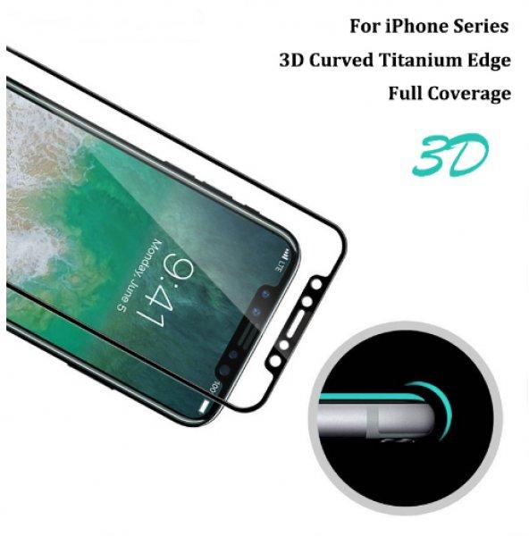iPhone+X+Pr%E9mium+3D+fekete+k%E9perny%F5v%E9d%F5+f%F3lia