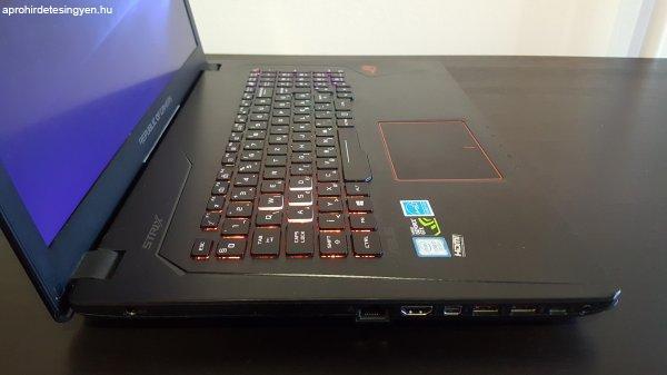 ELAD%D3%3A+ASUS+ROG+Strix+GL753+17.3+laptop+-+%E1ron+alul%2C+s%E9r%FCl%E9s
