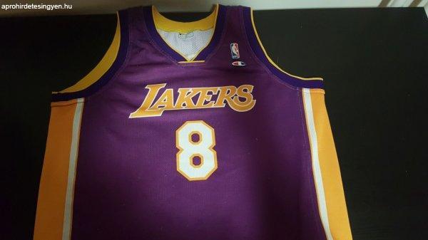 ELAD%D3%3A+Kobe+Bryant+mez+-+Ritka%2C+8-as+Lakers+alternate+jersey