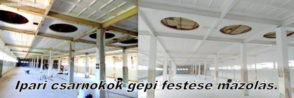 Fest%E9s-M%E1z%F3l%E1s-G%E9pi+glettelel%E9s-+Fest%E9s.-+Homlokzatfest%E9s