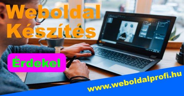 262bd38701 Honlap, Weboldal, Webshop készítés - - Budapest III. kerület ...