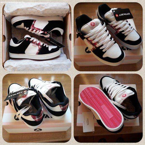 Airwalk 36-os Aero Skate női, lány deszkás cipő