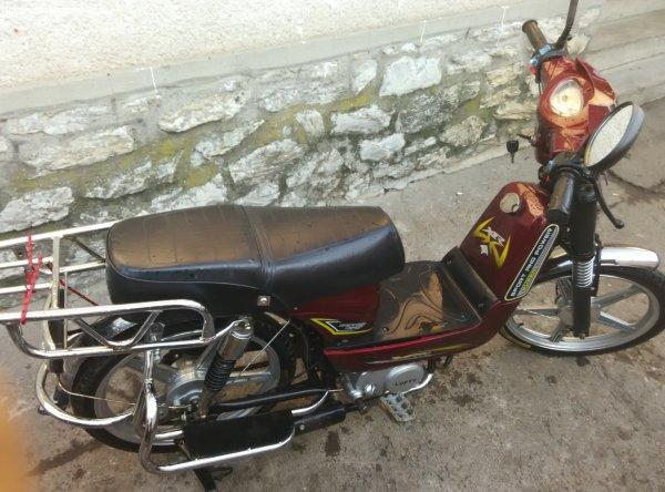 Eladó Lofty robbanó motoros kerékpár.