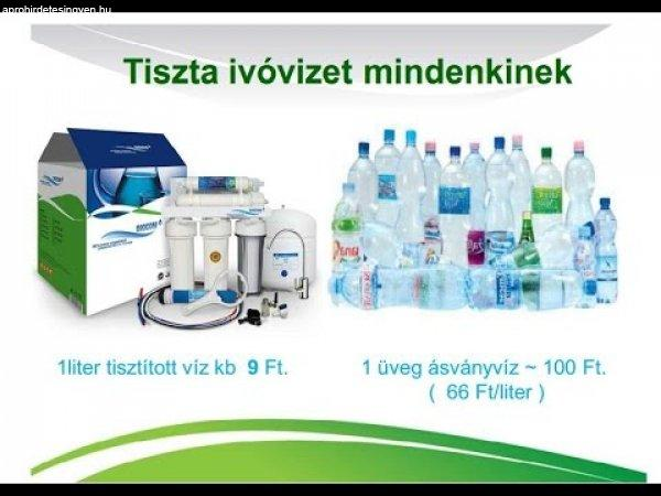 Víztisztító berendezés elérhető áron
