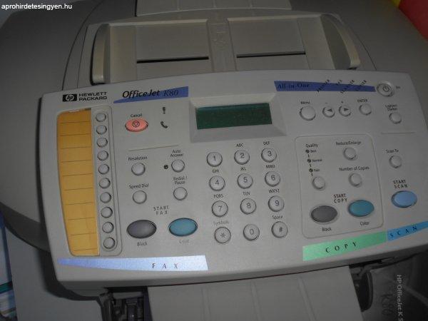 HP K80 Többfunkciós Nyomtató eladó