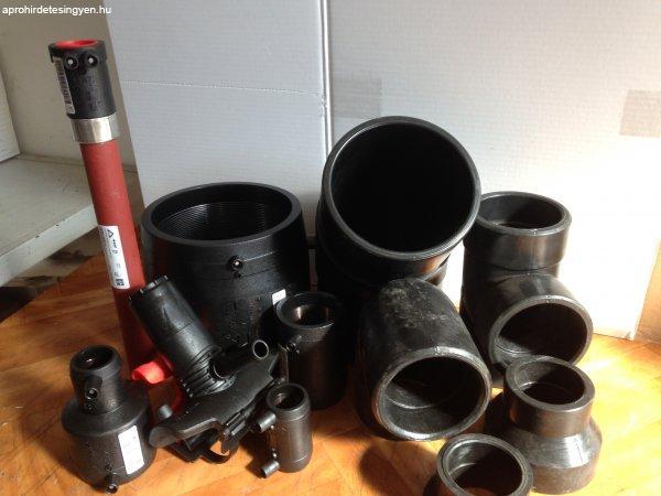 Gáz, vizszerelési idomok