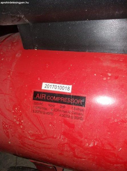 Big Red Kompresszor 1,5kW / 50L / 8bar (használ)