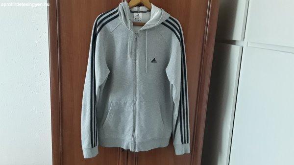 Adidas kapucnis pulóver L méretben