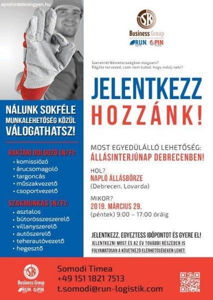 Àllásinterjúnap Debrecenben