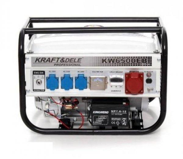 Új Kraft&dele Aggregátor, áramfejlesztő, generátor 2,5kw ela