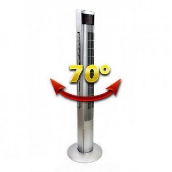 Új Fan Design Silver Tower-70 digitális oszlop ventilátor el