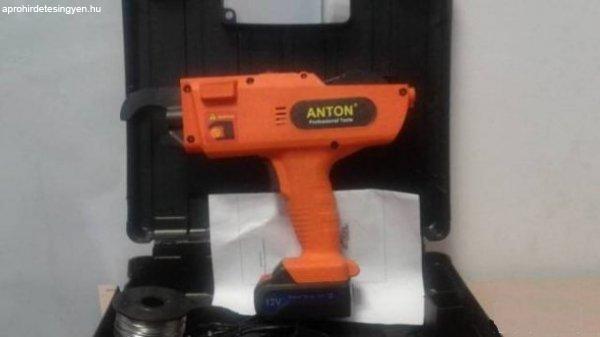 Új Anton proffesional Betonvas Kötöző Gép 12V eladó