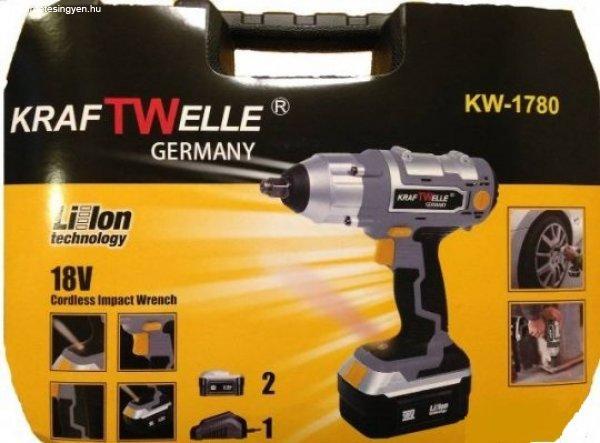 Új Kraftwelle Akkumulátoros kerékkulcs készlet 650 Nm eladó